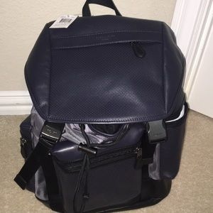 Midnight Navy/Graphite Coach Backpack